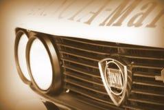 Le Saint-Marin le 21 octobre 2017 - Lancia Fulvia au rassemblement la légende Photographie stock libre de droits