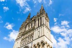 Le saint Maurice Cathedral de irrite, des Frances Photo stock