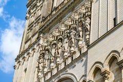 Le saint Maurice Cathedral de irrite, des Frances Photos libres de droits