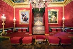 Le Salon d`Apollon, Versailles stock photos