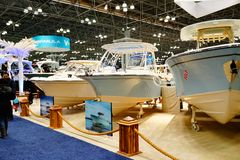 Le salon nautique 2019 de New York 7 photo stock