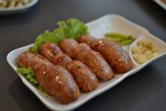 Le salsiccie del Vietnam Fotografia Stock