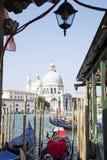 Le salut de della Santa Maria de basilique ? Venise photos libres de droits