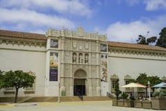 Le San Diego Museum de l'art dans le beau et historique Balb photo libre de droits