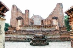 Le sanctuaire a été abandonné et détruit par temps Photo stock