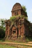 Le sanctuaire Cham de min son Vietnam Royaltyfri Foto