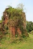 Le sanctuaire Cham de min son Vietnam Arkivbilder