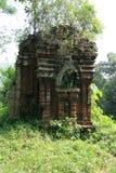 Le sanctuaire Cham de min son Vietnam Royaltyfri Bild