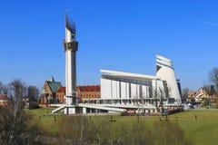 Le sanctuaire divin de pitié, Cracovie, Pologne image libre de droits