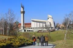 Le sanctuaire divin de pitié, Cracovie, Pologne photographie stock libre de droits