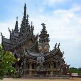 Le sanctuaire en bois de la vérité Photos libres de droits