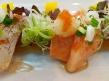 Le sashimi Images libres de droits