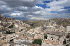 Le Sassi de Matera, Italie du sud. Photos libres de droits
