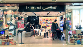 Le saunda shop in hong kong Royalty Free Stock Photography