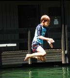 Le saut Photographie stock libre de droits