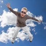 Le saut Image libre de droits