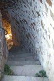Le scale dalla torretta Fotografia Stock Libera da Diritti