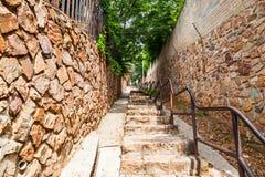 Le scale di Westcliff a Johannesburg Immagine Stock Libera da Diritti