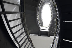 Le scale nella casa Immagine Stock Libera da Diritti