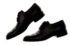Le scarpe degli uomini Fotografie Stock Libere da Diritti