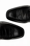 Le scarpe degli uomini Fotografia Stock