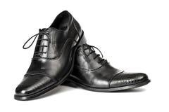 Le scarpe degli uomini Fotografie Stock