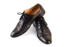 Le scarpe degli uomini Immagine Stock