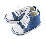 Le scarpe del bambino fotografie stock