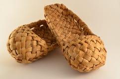 Le scarpe del villaggio Fotografie Stock Libere da Diritti