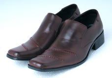 Le scarpe dell'uomo Fotografia Stock