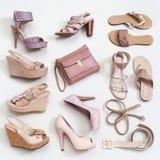 Le scarpe della donna fotografia stock libera da diritti