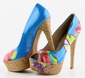 Le scarpe delle donne Fotografie Stock Libere da Diritti