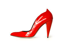 Le scarpe delle donne Fotografie Stock