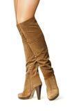 Le scarpe delle donne Fotografia Stock
