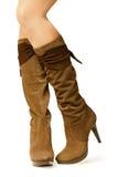 Le scarpe delle donne Immagini Stock