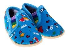 Le scarpe di bambino si dirigono Fotografia Stock Libera da Diritti