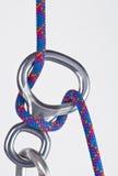 Le schéma 8 avec la corde Image stock