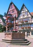 Le Schnatterloch dans Miltenberg Photographie stock libre de droits