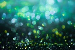 Le scintillement Colorfull de Bokeh a brouillé le fond abstrait pour l'anniversaire Photographie stock