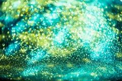 Le scintillement Colorfull de Bokeh a brouillé le fond abstrait pour l'anniversaire Photographie stock libre de droits