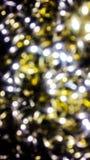 Le scintillement s'allume dans une texture de fond de scène de nuit photographie stock