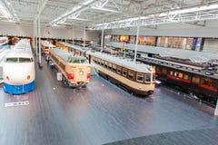 Le SCMaglev et le parc ferroviaire Photo libre de droits