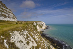 Le scogliere bianche di Dover Fotografia Stock