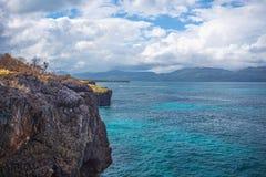 Le scogliere l'Atlantico dell'oceano del paesaggio di viaggio della natura esplorano il mondo Fotografia Stock