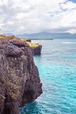 Le scogliere l'Atlantico dell'oceano del paesaggio di viaggio della natura esplorano il mondo Fotografia Stock Libera da Diritti
