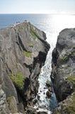 Le scogliere a mizen la testa, Irlanda Fotografie Stock