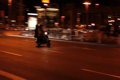 Le scooter Photos libres de droits