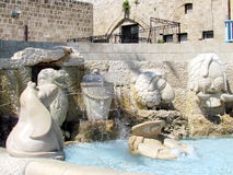Le sculture di Giaffa di zodiaco firma 2012 Fotografia Stock