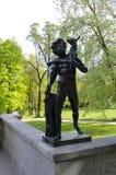 Le sculture in parco Fotografia Stock Libera da Diritti