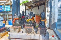 Le sculture sull'altare Immagini Stock Libere da Diritti